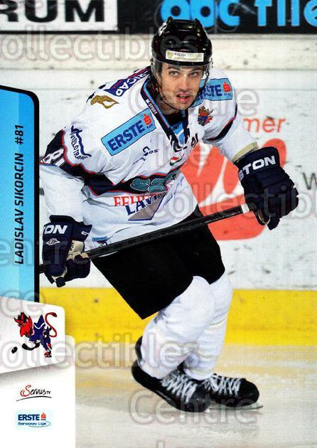 2013-14 Erste Bank Eishockey Liga EBEL #175 Ladislav Sikorcin<br/>4 In Stock - $2.00 each - <a href=https://centericecollectibles.foxycart.com/cart?name=2013-14%20Erste%20Bank%20Eishockey%20Liga%20EBEL%20%23175%20Ladislav%20Sikorc...&quantity_max=4&price=$2.00&code=590742 class=foxycart> Buy it now! </a>