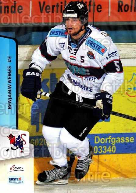 2013-14 Erste Bank Eishockey Liga EBEL #178 Benjamin Nemes<br/>4 In Stock - $2.00 each - <a href=https://centericecollectibles.foxycart.com/cart?name=2013-14%20Erste%20Bank%20Eishockey%20Liga%20EBEL%20%23178%20Benjamin%20Nemes...&quantity_max=4&price=$2.00&code=590745 class=foxycart> Buy it now! </a>