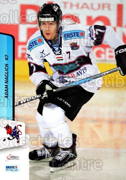 2013-14 Erste Bank Eishockey Liga EBEL #180 Adam Naglich<br/>1 In Stock - $2.00 each - <a href=https://centericecollectibles.foxycart.com/cart?name=2013-14%20Erste%20Bank%20Eishockey%20Liga%20EBEL%20%23180%20Adam%20Naglich...&quantity_max=1&price=$2.00&code=590747 class=foxycart> Buy it now! </a>
