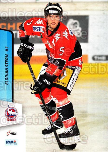2013-14 Erste Bank Eishockey Liga EBEL #187 Florian Stern<br/>4 In Stock - $2.00 each - <a href=https://centericecollectibles.foxycart.com/cart?name=2013-14%20Erste%20Bank%20Eishockey%20Liga%20EBEL%20%23187%20Florian%20Stern...&quantity_max=4&price=$2.00&code=590754 class=foxycart> Buy it now! </a>