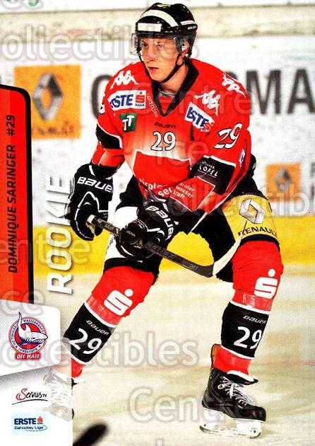 2013-14 Erste Bank Eishockey Liga EBEL #189 Dominique Saringer<br/>4 In Stock - $2.00 each - <a href=https://centericecollectibles.foxycart.com/cart?name=2013-14%20Erste%20Bank%20Eishockey%20Liga%20EBEL%20%23189%20Dominique%20Sarin...&quantity_max=4&price=$2.00&code=590756 class=foxycart> Buy it now! </a>