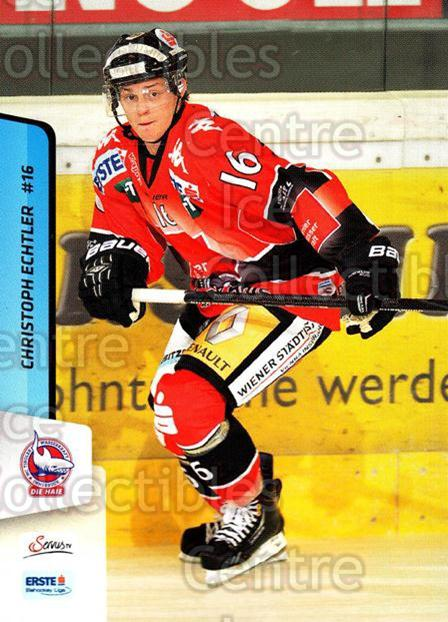 2013-14 Erste Bank Eishockey Liga EBEL #190 Christoph Echtler<br/>4 In Stock - $2.00 each - <a href=https://centericecollectibles.foxycart.com/cart?name=2013-14%20Erste%20Bank%20Eishockey%20Liga%20EBEL%20%23190%20Christoph%20Echtl...&quantity_max=4&price=$2.00&code=590757 class=foxycart> Buy it now! </a>