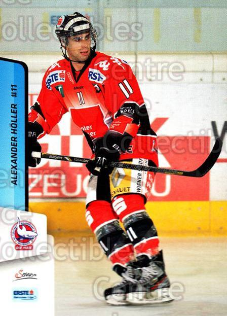 2013-14 Erste Bank Eishockey Liga EBEL #192 Alexander Holler<br/>4 In Stock - $2.00 each - <a href=https://centericecollectibles.foxycart.com/cart?name=2013-14%20Erste%20Bank%20Eishockey%20Liga%20EBEL%20%23192%20Alexander%20Holle...&quantity_max=4&price=$2.00&code=590759 class=foxycart> Buy it now! </a>