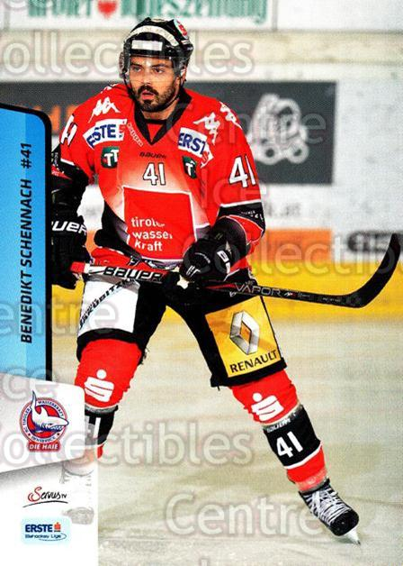 2013-14 Erste Bank Eishockey Liga EBEL #193 Benedikt Schennach<br/>4 In Stock - $2.00 each - <a href=https://centericecollectibles.foxycart.com/cart?name=2013-14%20Erste%20Bank%20Eishockey%20Liga%20EBEL%20%23193%20Benedikt%20Schenn...&quantity_max=4&price=$2.00&code=590760 class=foxycart> Buy it now! </a>