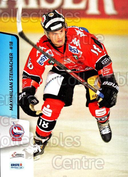 2013-14 Erste Bank Eishockey Liga EBEL #194 Maximilian Steinacher<br/>4 In Stock - $2.00 each - <a href=https://centericecollectibles.foxycart.com/cart?name=2013-14%20Erste%20Bank%20Eishockey%20Liga%20EBEL%20%23194%20Maximilian%20Stei...&quantity_max=4&price=$2.00&code=590761 class=foxycart> Buy it now! </a>