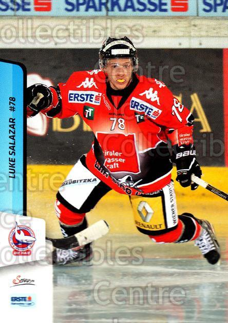2013-14 Erste Bank Eishockey Liga EBEL #198 Luke Salazar<br/>3 In Stock - $2.00 each - <a href=https://centericecollectibles.foxycart.com/cart?name=2013-14%20Erste%20Bank%20Eishockey%20Liga%20EBEL%20%23198%20Luke%20Salazar...&quantity_max=3&price=$2.00&code=590765 class=foxycart> Buy it now! </a>