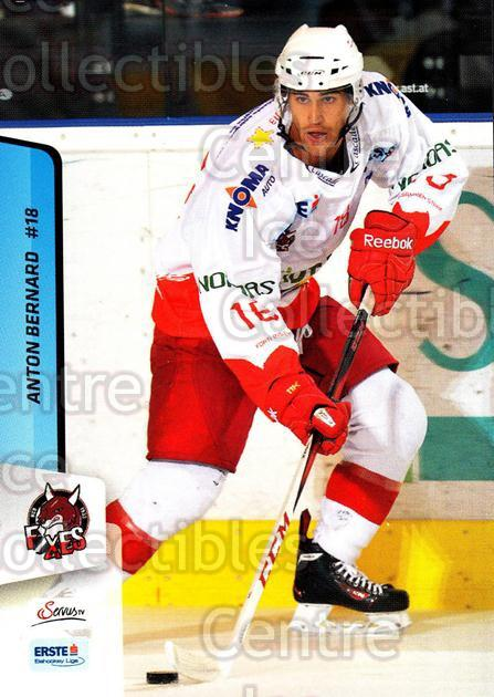 2013-14 Erste Bank Eishockey Liga EBEL #205 Anton Bernard<br/>4 In Stock - $2.00 each - <a href=https://centericecollectibles.foxycart.com/cart?name=2013-14%20Erste%20Bank%20Eishockey%20Liga%20EBEL%20%23205%20Anton%20Bernard...&quantity_max=4&price=$2.00&code=590772 class=foxycart> Buy it now! </a>