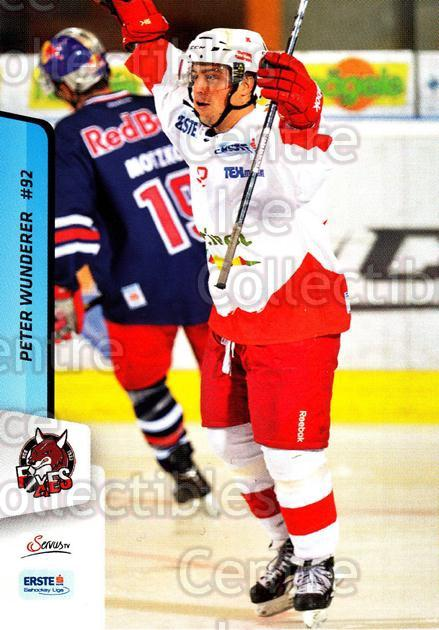 2013-14 Erste Bank Eishockey Liga EBEL #213 Peter Wunderer<br/>5 In Stock - $2.00 each - <a href=https://centericecollectibles.foxycart.com/cart?name=2013-14%20Erste%20Bank%20Eishockey%20Liga%20EBEL%20%23213%20Peter%20Wunderer...&quantity_max=5&price=$2.00&code=590780 class=foxycart> Buy it now! </a>