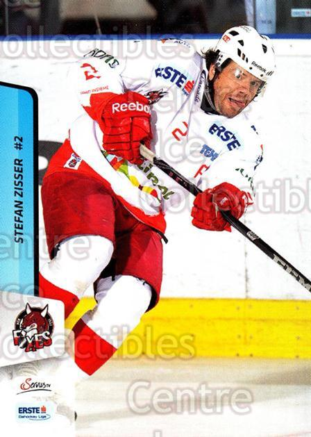 2013-14 Erste Bank Eishockey Liga EBEL #214 Stefan Zisser<br/>5 In Stock - $2.00 each - <a href=https://centericecollectibles.foxycart.com/cart?name=2013-14%20Erste%20Bank%20Eishockey%20Liga%20EBEL%20%23214%20Stefan%20Zisser...&quantity_max=5&price=$2.00&code=590781 class=foxycart> Buy it now! </a>