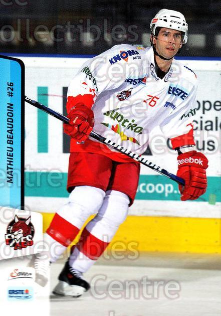 2013-14 Erste Bank Eishockey Liga EBEL #216 Mathieu Beaudoin<br/>5 In Stock - $2.00 each - <a href=https://centericecollectibles.foxycart.com/cart?name=2013-14%20Erste%20Bank%20Eishockey%20Liga%20EBEL%20%23216%20Mathieu%20Beaudoi...&quantity_max=5&price=$2.00&code=590783 class=foxycart> Buy it now! </a>