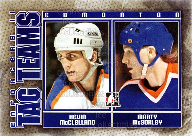 2013-14 ITG Enforcers #126 Kevin McClelland, Marty McSorley<br/>8 In Stock - $2.00 each - <a href=https://centericecollectibles.foxycart.com/cart?name=2013-14%20ITG%20Enforcers%20%23126%20Kevin%20McClellan...&quantity_max=8&price=$2.00&code=590825 class=foxycart> Buy it now! </a>