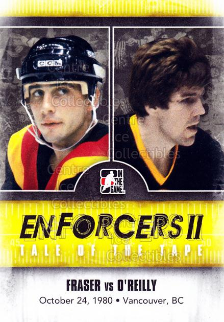 2013-14 ITG Enforcers #149 Curt Fraser, Terry O'Reilly<br/>13 In Stock - $2.00 each - <a href=https://centericecollectibles.foxycart.com/cart?name=2013-14%20ITG%20Enforcers%20%23149%20Curt%20Fraser,%20Te...&quantity_max=13&price=$2.00&code=590848 class=foxycart> Buy it now! </a>