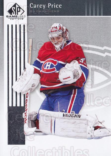 2011-12 SP Game Used #49 Carey Price<br/>2 In Stock - $3.00 each - <a href=https://centericecollectibles.foxycart.com/cart?name=2011-12%20SP%20Game%20Used%20%2349%20Carey%20Price...&quantity_max=2&price=$3.00&code=591312 class=foxycart> Buy it now! </a>