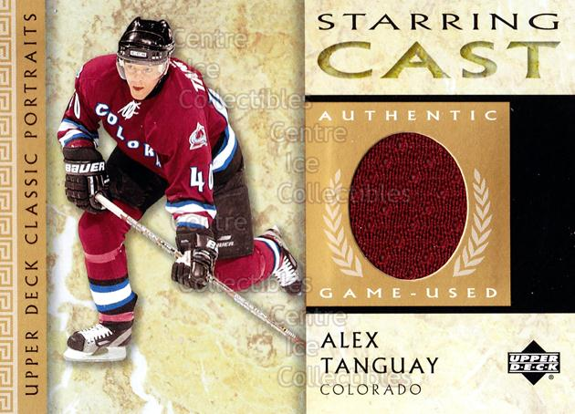 2002-03 UD Classic Portraits Starring Cast #CAT Alex Tanguay<br/>2 In Stock - $5.00 each - <a href=https://centericecollectibles.foxycart.com/cart?name=2002-03%20UD%20Classic%20Portraits%20Starring%20Cast%20%23CAT%20Alex%20Tanguay...&quantity_max=2&price=$5.00&code=592106 class=foxycart> Buy it now! </a>