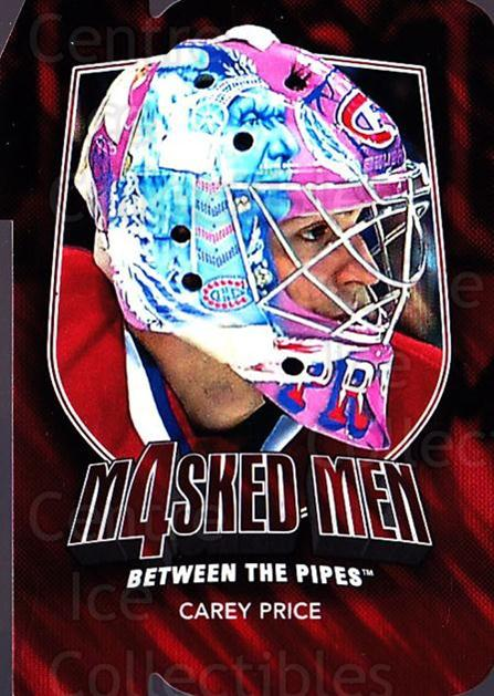 2011-12 Between The Pipes Masked Men 4 Ruby #35 Carey Price<br/>4 In Stock - $10.00 each - <a href=https://centericecollectibles.foxycart.com/cart?name=2011-12%20Between%20The%20Pipes%20Masked%20Men%204%20Ruby%20%2335%20Carey%20Price...&quantity_max=4&price=$10.00&code=592235 class=foxycart> Buy it now! </a>