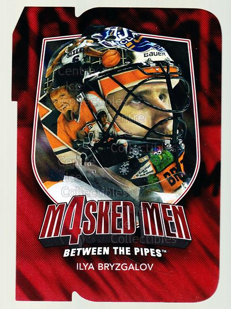 2011-12 Between The Pipes Masked Men 4 Ruby #10 Ilya Bryzgalov<br/>3 In Stock - $3.00 each - <a href=https://centericecollectibles.foxycart.com/cart?name=2011-12%20Between%20The%20Pipes%20Masked%20Men%204%20Ruby%20%2310%20Ilya%20Bryzgalov...&quantity_max=3&price=$3.00&code=592260 class=foxycart> Buy it now! </a>