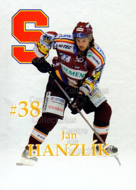 2007-08 Czech HC Sparta Praha Team Issue #7 Jan Hanzlik<br/>2 In Stock - $3.00 each - <a href=https://centericecollectibles.foxycart.com/cart?name=2007-08%20Czech%20HC%20Sparta%20Praha%20Team%20Issue%20%237%20Jan%20Hanzlik...&price=$3.00&code=592393 class=foxycart> Buy it now! </a>