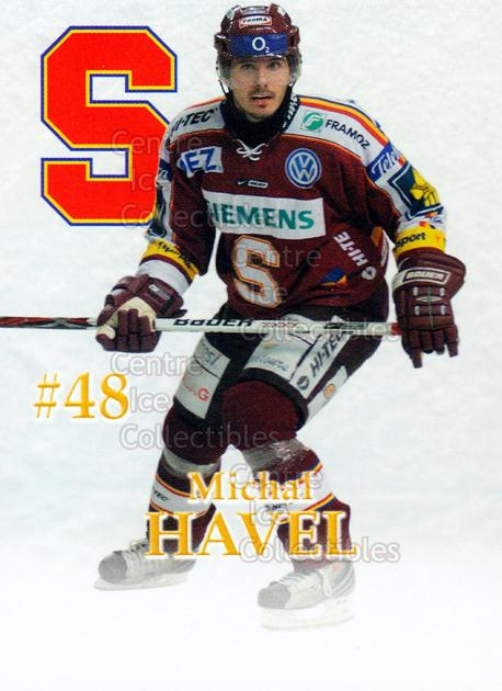 2007-08 Czech HC Sparta Praha Team Issue #8 Michal Havel<br/>2 In Stock - $3.00 each - <a href=https://centericecollectibles.foxycart.com/cart?name=2007-08%20Czech%20HC%20Sparta%20Praha%20Team%20Issue%20%238%20Michal%20Havel...&price=$3.00&code=592394 class=foxycart> Buy it now! </a>