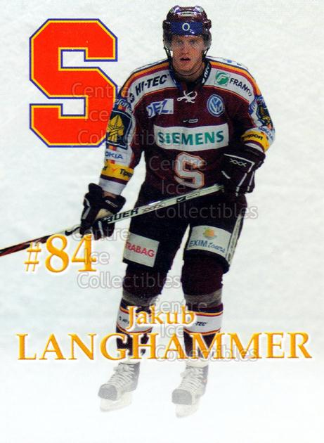 2007-08 Czech HC Sparta Praha Team Issue #12 Jakub Lanchammer<br/>2 In Stock - $3.00 each - <a href=https://centericecollectibles.foxycart.com/cart?name=2007-08%20Czech%20HC%20Sparta%20Praha%20Team%20Issue%20%2312%20Jakub%20Lanchamme...&price=$3.00&code=592398 class=foxycart> Buy it now! </a>