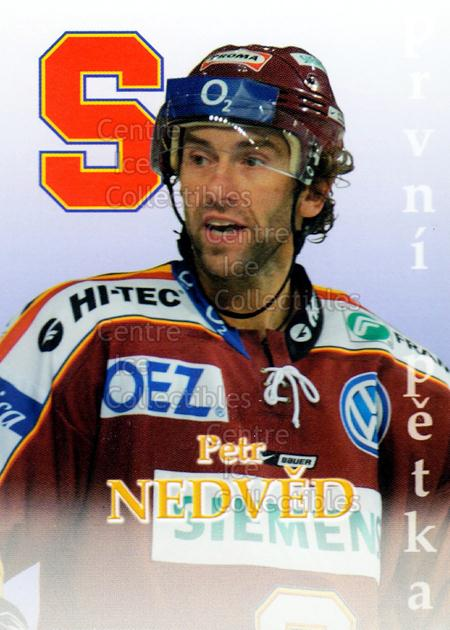 2007-08 Czech HC Sparta Praha Team Issue #16 Petr Nedved<br/>1 In Stock - $3.00 each - <a href=https://centericecollectibles.foxycart.com/cart?name=2007-08%20Czech%20HC%20Sparta%20Praha%20Team%20Issue%20%2316%20Petr%20Nedved...&price=$3.00&code=592402 class=foxycart> Buy it now! </a>