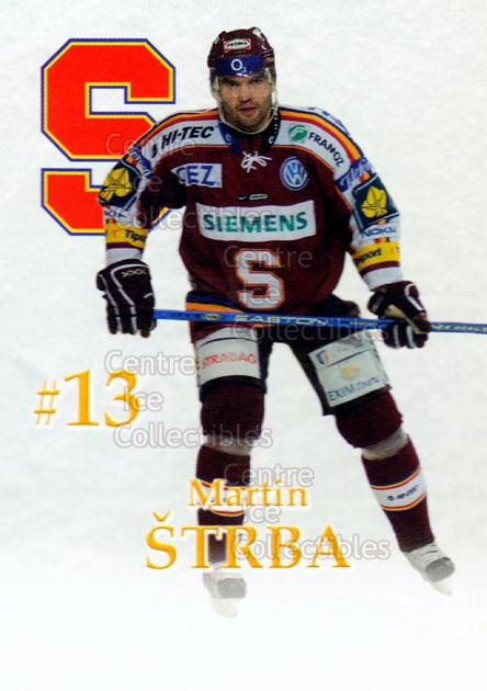2007-08 Czech HC Sparta Praha Team Issue #26 Martin Strba<br/>2 In Stock - $3.00 each - <a href=https://centericecollectibles.foxycart.com/cart?name=2007-08%20Czech%20HC%20Sparta%20Praha%20Team%20Issue%20%2326%20Martin%20Strba...&price=$3.00&code=592412 class=foxycart> Buy it now! </a>