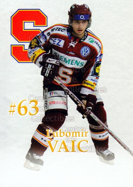 2007-08 Czech HC Sparta Praha Team Issue #31 Lubomir Vaic<br/>1 In Stock - $3.00 each - <a href=https://centericecollectibles.foxycart.com/cart?name=2007-08%20Czech%20HC%20Sparta%20Praha%20Team%20Issue%20%2331%20Lubomir%20Vaic...&price=$3.00&code=592417 class=foxycart> Buy it now! </a>