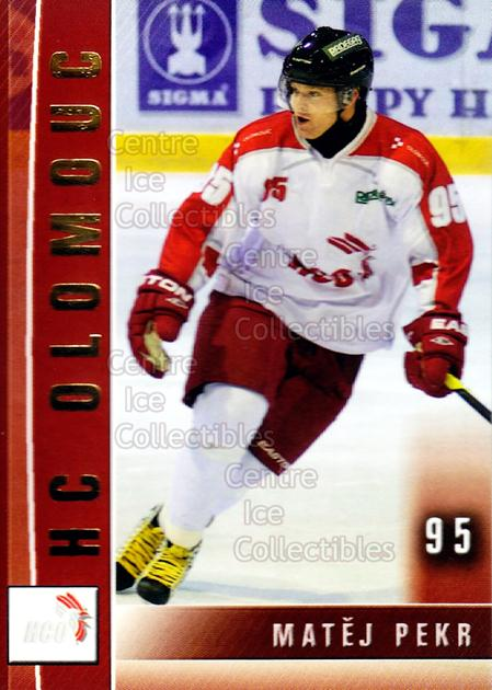 2012-13 Czech HC Olomouc Team Issue #B06 Matej Pekr<br/>1 In Stock - $3.00 each - <a href=https://centericecollectibles.foxycart.com/cart?name=2012-13%20Czech%20HC%20Olomouc%20Team%20Issue%20%23B06%20Matej%20Pekr...&quantity_max=1&price=$3.00&code=592462 class=foxycart> Buy it now! </a>