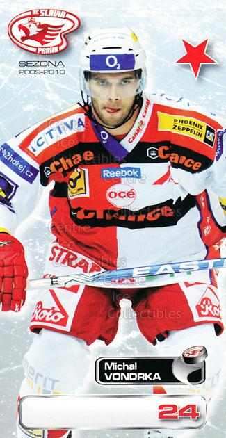 2009-10 Czech HC Slavia Praha Team Issue #15 Michal Vondrka<br/>2 In Stock - $3.00 each - <a href=https://centericecollectibles.foxycart.com/cart?name=2009-10%20Czech%20HC%20Slavia%20Praha%20Team%20Issue%20%2315%20Michal%20Vondrka...&price=$3.00&code=592491 class=foxycart> Buy it now! </a>