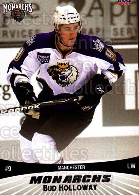 2010-11 Manchester Monarchs #9 George Holloway<br/>2 In Stock - $3.00 each - <a href=https://centericecollectibles.foxycart.com/cart?name=2010-11%20Manchester%20Monarchs%20%239%20George%20Holloway...&quantity_max=2&price=$3.00&code=593320 class=foxycart> Buy it now! </a>