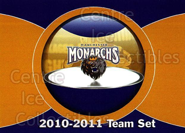 2010-11 Manchester Monarchs #25 Checklist<br/>2 In Stock - $3.00 each - <a href=https://centericecollectibles.foxycart.com/cart?name=2010-11%20Manchester%20Monarchs%20%2325%20Checklist...&quantity_max=2&price=$3.00&code=593336 class=foxycart> Buy it now! </a>