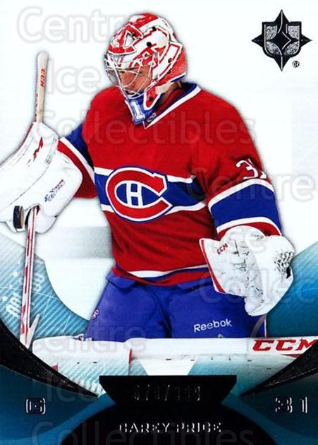 2012-13 UD Ultimate Collection #12 Carey Price<br/>1 In Stock - $10.00 each - <a href=https://centericecollectibles.foxycart.com/cart?name=2012-13%20UD%20Ultimate%20Collection%20%2312%20Carey%20Price...&price=$10.00&code=593748 class=foxycart> Buy it now! </a>