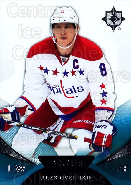 2012-13 UD Ultimate Collection #26 Alexander Ovechkin<br/>2 In Stock - $5.00 each - <a href=https://centericecollectibles.foxycart.com/cart?name=2012-13%20UD%20Ultimate%20Collection%20%2326%20Alexander%20Ovech...&price=$5.00&code=593762 class=foxycart> Buy it now! </a>
