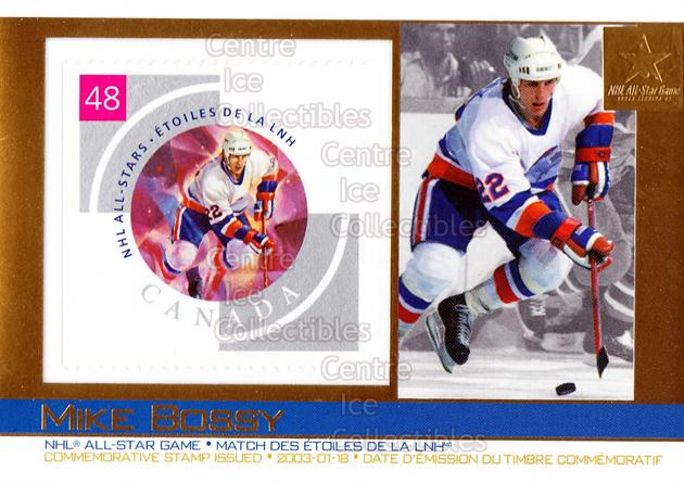 2003 Canada Post Pacific #23 Mike Bossy<br/>4 In Stock - $3.00 each - <a href=https://centericecollectibles.foxycart.com/cart?name=2003%20Canada%20Post%20Pacific%20%2323%20Mike%20Bossy...&price=$3.00&code=593961 class=foxycart> Buy it now! </a>