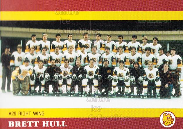 1990 The Brett Hull Collection UMD #12 Brett Hull<br/>2 In Stock - $3.00 each - <a href=https://centericecollectibles.foxycart.com/cart?name=1990%20The%20Brett%20Hull%20Collection%20UMD%20%2312%20Brett%20Hull...&price=$3.00&code=593989 class=foxycart> Buy it now! </a>