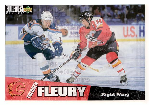 1996-97 Collectors Choice Bi-Way Jumbos #2 Theo Fleury<br/>10 In Stock - $5.00 each - <a href=https://centericecollectibles.foxycart.com/cart?name=1996-97%20Collectors%20Choice%20Bi-Way%20Jumbos%20%232%20Theo%20Fleury...&quantity_max=10&price=$5.00&code=594285 class=foxycart> Buy it now! </a>