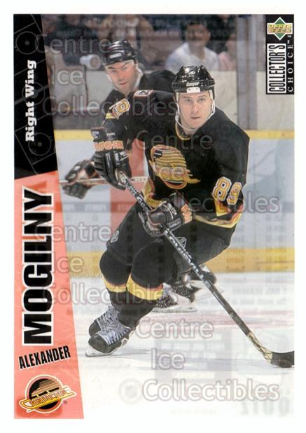 1996-97 Collectors Choice Bi-Way Jumbos #8 Alexander Mogilny<br/>9 In Stock - $5.00 each - <a href=https://centericecollectibles.foxycart.com/cart?name=1996-97%20Collectors%20Choice%20Bi-Way%20Jumbos%20%238%20Alexander%20Mogil...&quantity_max=9&price=$5.00&code=594291 class=foxycart> Buy it now! </a>