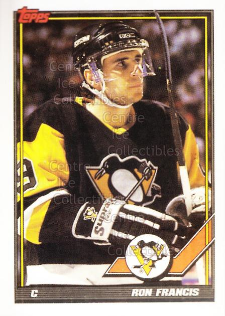 1991-92 Pittsburgh Penguins Foodland Stickers #3 Ron Francis<br/>3 In Stock - $3.00 each - <a href=https://centericecollectibles.foxycart.com/cart?name=1991-92%20Pittsburgh%20Penguins%20Foodland%20Stickers%20%233%20Ron%20Francis...&quantity_max=3&price=$3.00&code=594945 class=foxycart> Buy it now! </a>