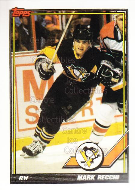1991-92 Pittsburgh Penguins Foodland Stickers #9 Mark Recchi<br/>4 In Stock - $3.00 each - <a href=https://centericecollectibles.foxycart.com/cart?name=1991-92%20Pittsburgh%20Penguins%20Foodland%20Stickers%20%239%20Mark%20Recchi...&quantity_max=4&price=$3.00&code=594950 class=foxycart> Buy it now! </a>