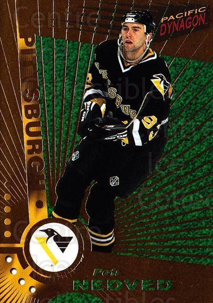1997-98 Dynagon #104 Petr Nedved<br/>6 In Stock - $1.00 each - <a href=https://centericecollectibles.foxycart.com/cart?name=1997-98%20Dynagon%20%23104%20Petr%20Nedved...&quantity_max=6&price=$1.00&code=59497 class=foxycart> Buy it now! </a>