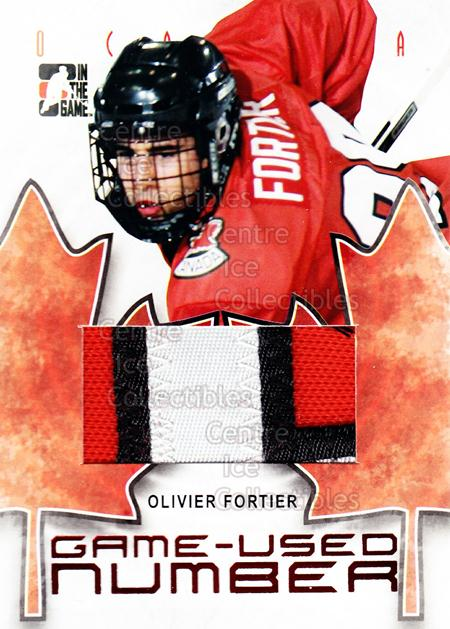 2007-08 ITG O Canada Number #16 Olivier Fortier<br/>1 In Stock - $15.00 each - <a href=https://centericecollectibles.foxycart.com/cart?name=2007-08%20ITG%20O%20Canada%20Number%20%2316%20Olivier%20Fortier...&quantity_max=1&price=$15.00&code=595319 class=foxycart> Buy it now! </a>