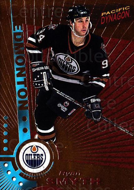 1997-98 Dynagon #51 Ryan Smyth<br/>6 In Stock - $1.00 each - <a href=https://centericecollectibles.foxycart.com/cart?name=1997-98%20Dynagon%20%2351%20Ryan%20Smyth...&quantity_max=6&price=$1.00&code=59568 class=foxycart> Buy it now! </a>