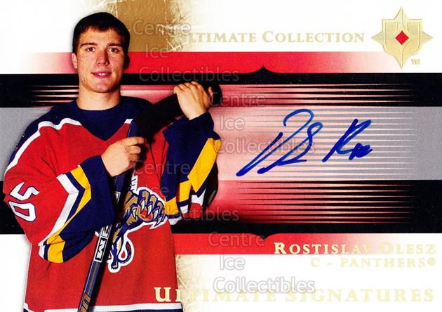 2005-06 UD Ultimate Collection Signatures #USRO Rostislav Olesz<br/>1 In Stock - $5.00 each - <a href=https://centericecollectibles.foxycart.com/cart?name=2005-06%20UD%20Ultimate%20Collection%20Signatures%20%23USRO%20Rostislav%20Olesz...&quantity_max=1&price=$5.00&code=595874 class=foxycart> Buy it now! </a>