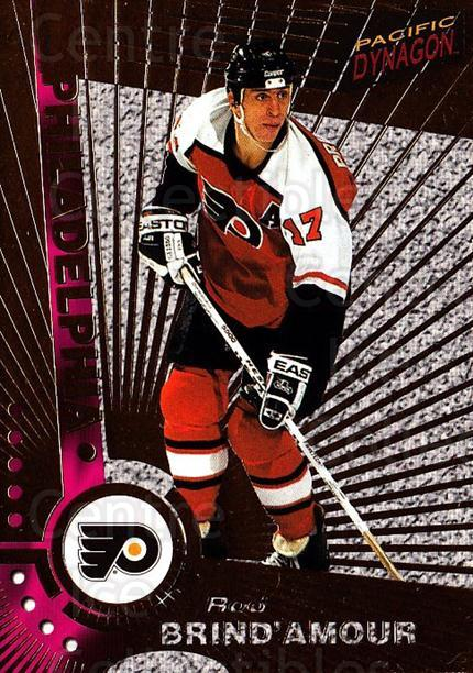 1997-98 Dynagon #88 Rod Brind'Amour<br/>7 In Stock - $1.00 each - <a href=https://centericecollectibles.foxycart.com/cart?name=1997-98%20Dynagon%20%2388%20Rod%20Brind'Amour...&quantity_max=7&price=$1.00&code=59606 class=foxycart> Buy it now! </a>