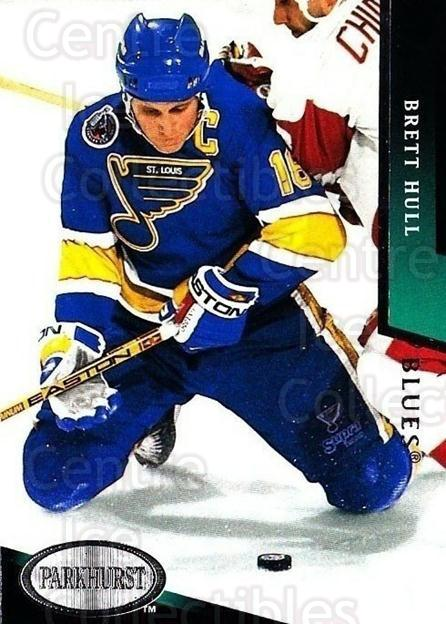 1993-94 Parkhurst #180 Brett Hull<br/>4 In Stock - $2.00 each - <a href=https://centericecollectibles.foxycart.com/cart?name=1993-94%20Parkhurst%20%23180%20Brett%20Hull...&quantity_max=4&price=$2.00&code=5963 class=foxycart> Buy it now! </a>