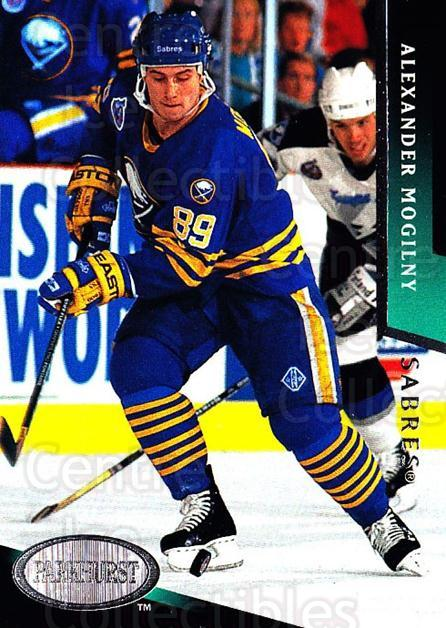 1993-94 Parkhurst #21 Alexander Mogilny<br/>4 In Stock - $1.00 each - <a href=https://centericecollectibles.foxycart.com/cart?name=1993-94%20Parkhurst%20%2321%20Alexander%20Mogil...&quantity_max=4&price=$1.00&code=5979 class=foxycart> Buy it now! </a>