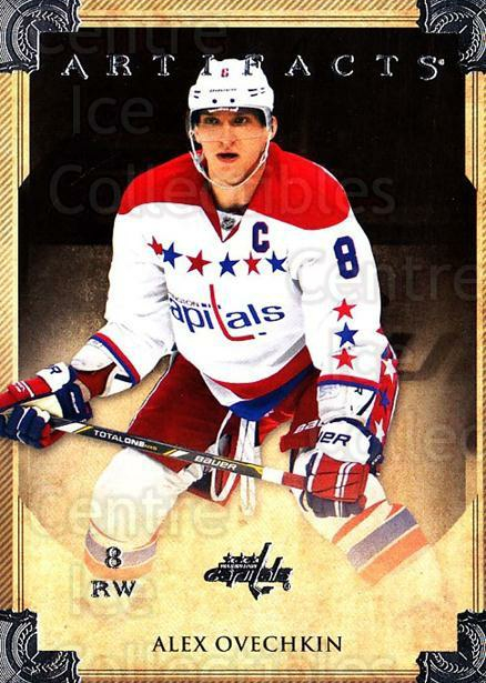 2013-14 UD Artifacts #4 Alexander Ovechkin<br/>4 In Stock - $2.00 each - <a href=https://centericecollectibles.foxycart.com/cart?name=2013-14%20UD%20Artifacts%20%234%20Alexander%20Ovech...&price=$2.00&code=598331 class=foxycart> Buy it now! </a>