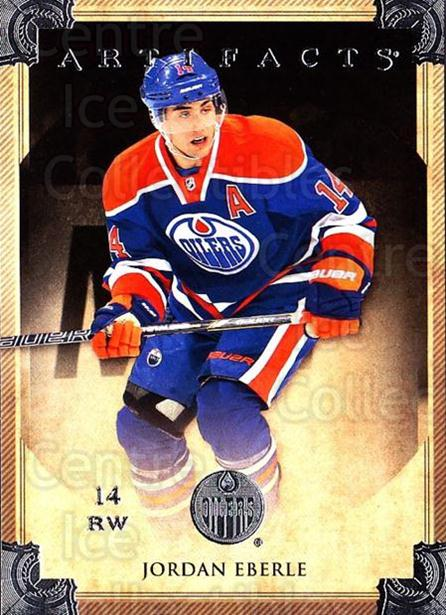 2013-14 UD Artifacts #43 Jordan Eberle<br/>6 In Stock - $1.00 each - <a href=https://centericecollectibles.foxycart.com/cart?name=2013-14%20UD%20Artifacts%20%2343%20Jordan%20Eberle...&quantity_max=6&price=$1.00&code=598370 class=foxycart> Buy it now! </a>