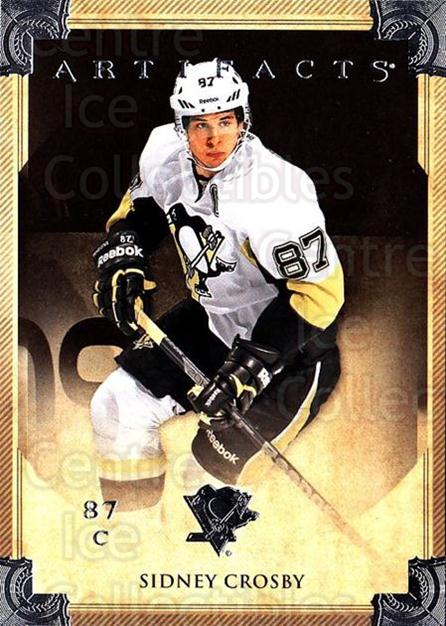 2013-14 UD Artifacts #92 Sidney Crosby<br/>4 In Stock - $3.00 each - <a href=https://centericecollectibles.foxycart.com/cart?name=2013-14%20UD%20Artifacts%20%2392%20Sidney%20Crosby...&quantity_max=4&price=$3.00&code=598419 class=foxycart> Buy it now! </a>