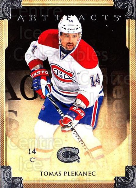 2013-14 UD Artifacts #95 Tomas Plekanec<br/>6 In Stock - $1.00 each - <a href=https://centericecollectibles.foxycart.com/cart?name=2013-14%20UD%20Artifacts%20%2395%20Tomas%20Plekanec...&quantity_max=6&price=$1.00&code=598422 class=foxycart> Buy it now! </a>