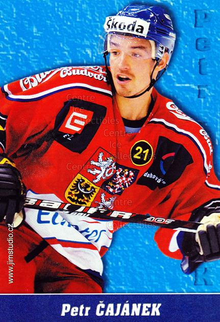 2004-05 Czech National Team Postcards #1 Petr Cajanek<br/>1 In Stock - $3.00 each - <a href=https://centericecollectibles.foxycart.com/cart?name=2004-05%20Czech%20National%20Team%20Postcards%20%231%20Petr%20Cajanek...&quantity_max=1&price=$3.00&code=598775 class=foxycart> Buy it now! </a>